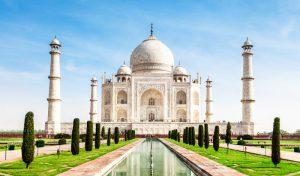 Taj Mahal,- marble