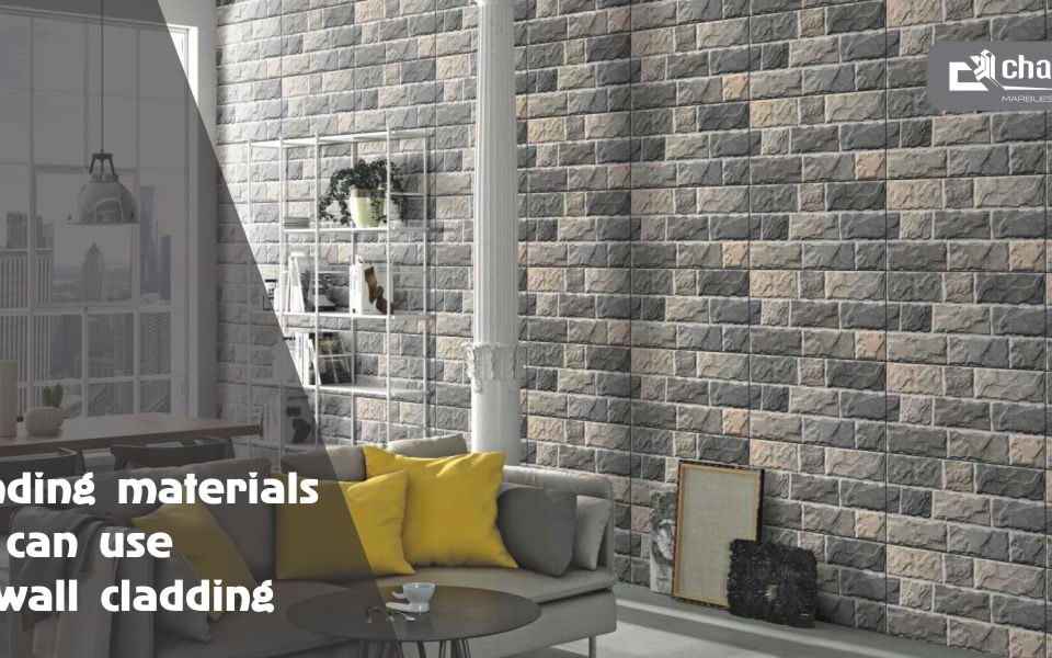 Trending Materials You Can Use For Wall Cladding